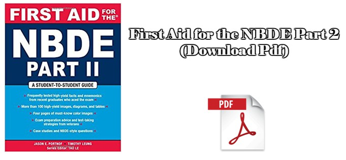First Aid for the NBDE Part 2 (Download Pdf) – CME & CDE