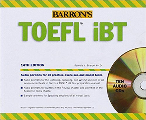 Complete CD Package of Barron Toefel – CME & CDE