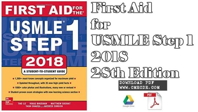 Download First Aid for the USMLE Step 1 2017 Pdf | CME & CDE