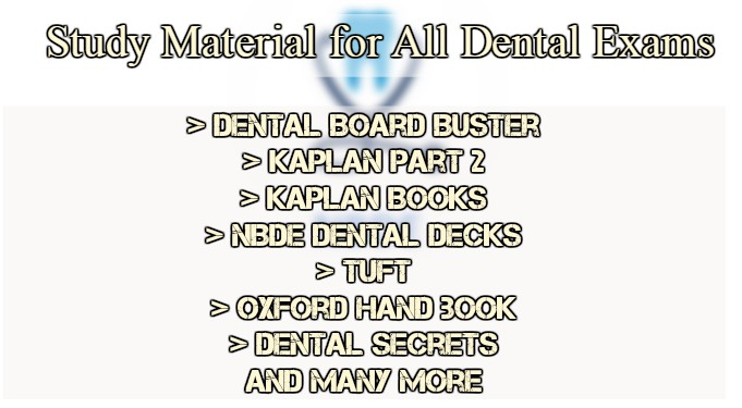 Most Important Stuff You will Need for Dentistry Exams – CME & CDE