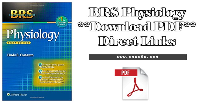 Download Brs Physiology Pdf Cme Cde