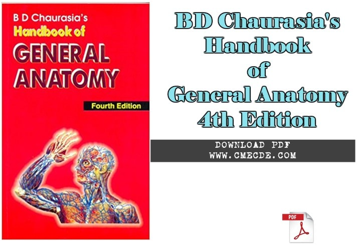 Download Bd Chaurasias Handbook Of General Anatomy 4th Edition Pdf