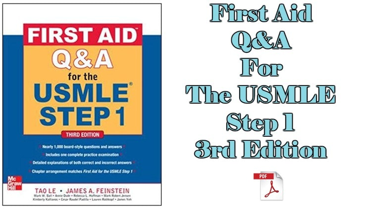 Download First Aid Q&A For The USMLE Step 1 3rd Edition PDF – CME & CDE