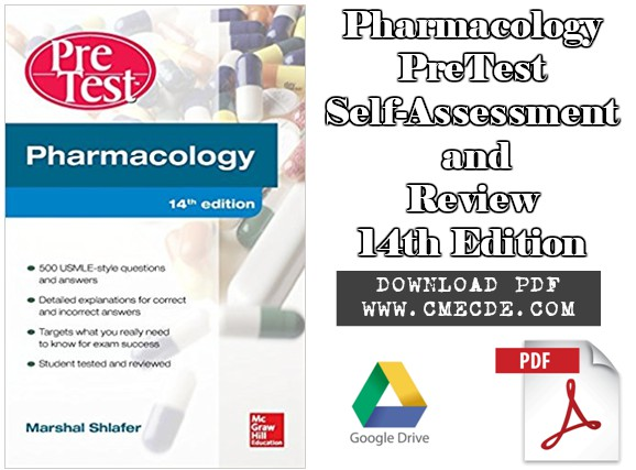 Download Pharmacology PreTest Self-Assessment and Review 14th ...