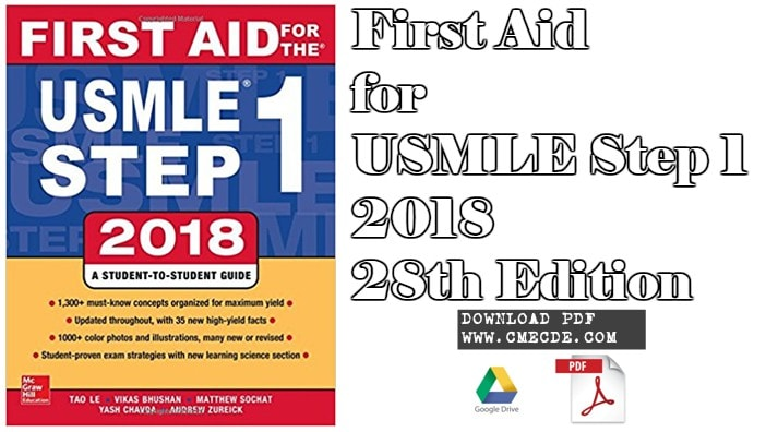 Download First Aid For Usmle Step 1 2018 28th Edition Pdf Free