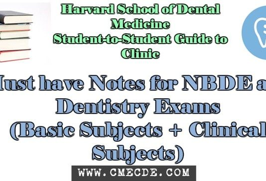 Dentistry Study Material Cme Amp Cde