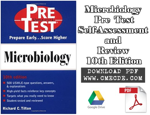 Download Microbiology: PreTest Self-Assessment and Review