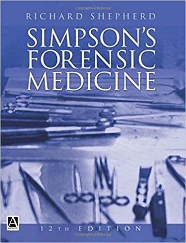 Download Simpson's Forensic Medicine 12th Edition PDF Free
