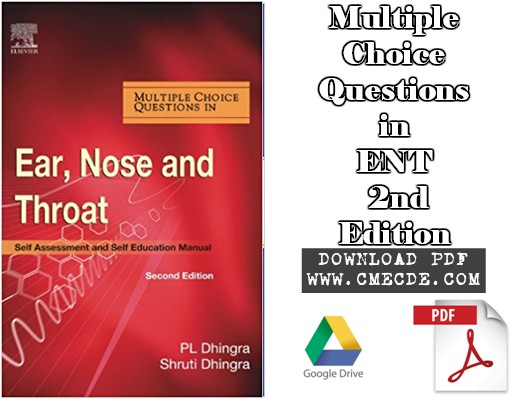 Download Multiple Choice Questions in ENT 2nd Edition PDF