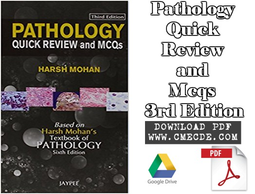 Download Pathology Quick Review and Mcqs 3rd Edition PDF