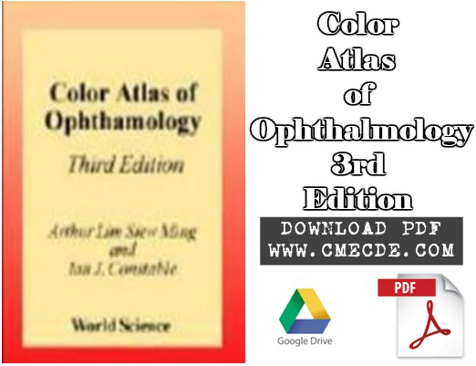 Download Color Atlas of Ophthalmology 3rd Edition PDF Free – CME & CDE