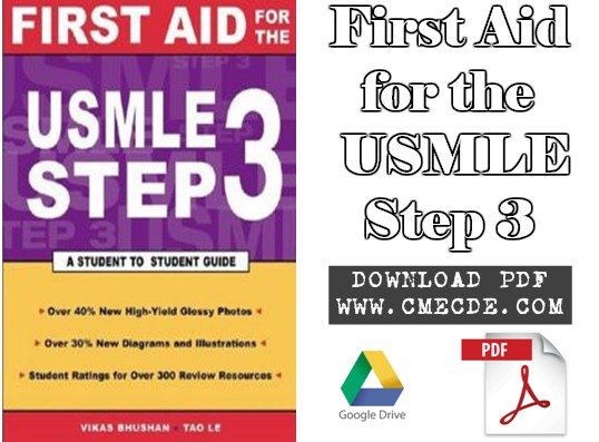 Download First Aid for the USMLE Step 3 PDF Free | CME & CDE