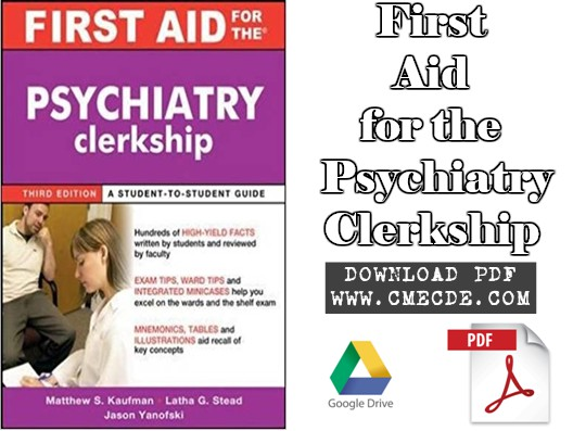 Download First Aid For The Psychiatry Clerkship 3rd Edition Pdf Free