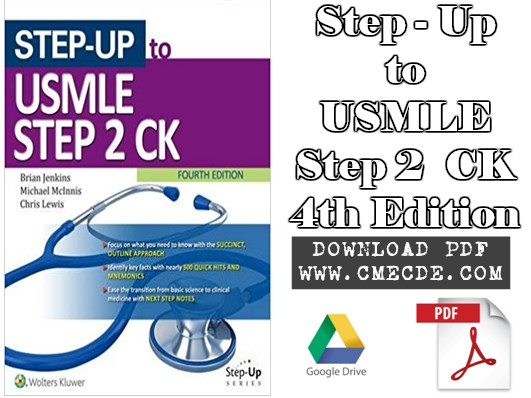Download Step-Up to USMLE Step 2 CK 4th Edition PDF Free – CME & CDE