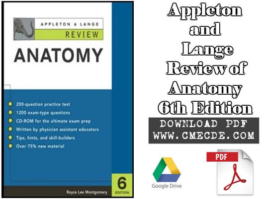 Download Appleton & Lange Review of Anatomy 6th Edition PDF