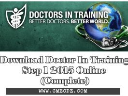 Download Doctor In Training Step 1 2016 Online (Complete