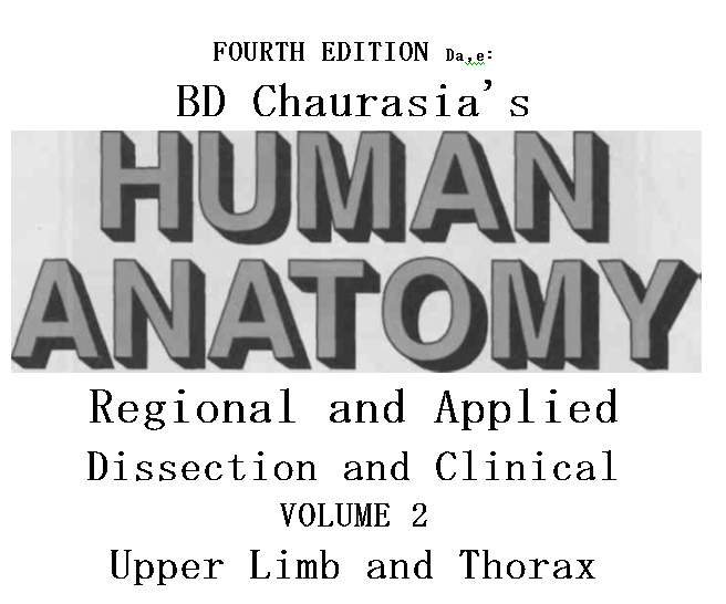 Download Bd Chaurasias Human Anatomy Vol 2 Fourth Edition Pdf Free