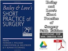 Bailey And Love Surgery 25th Edition Pdf