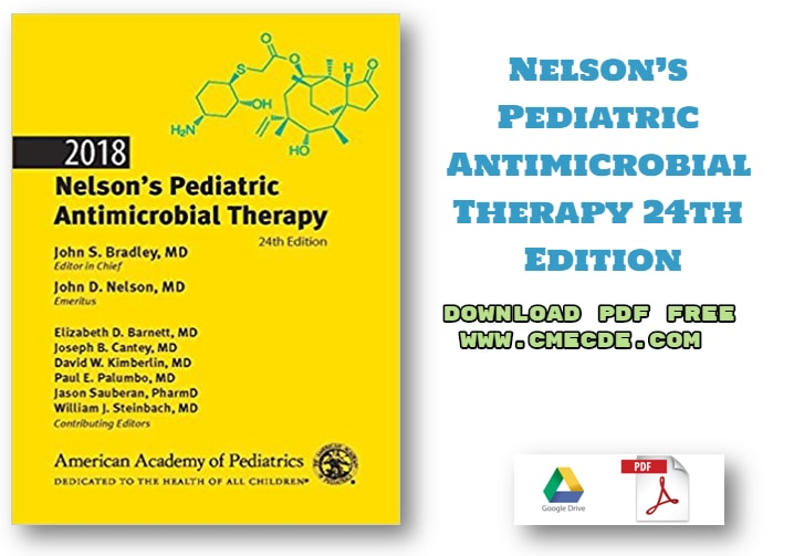 Nelson S Pediatric Antimicrobial Therapy 24th Edition 2018 Download