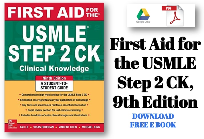 First Aid for the USMLE Step 2 CK, 9th Edition Download PDF