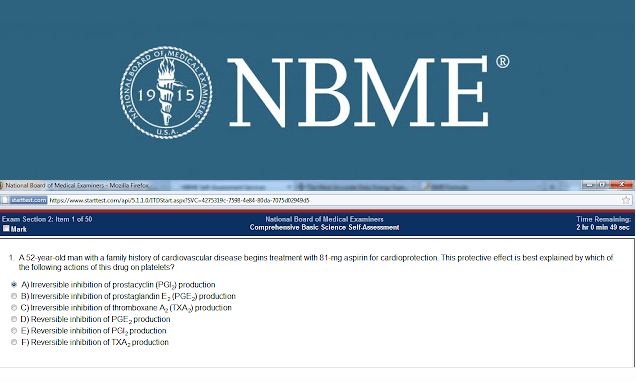 Download Nbme Comprehensive Basic Science For Step 1 Collection Free Cme Cde