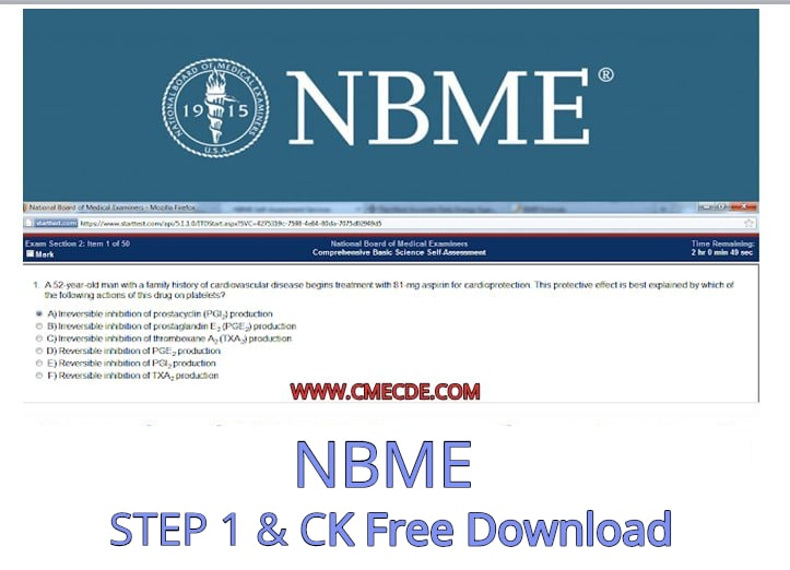 Download National Board of Medical Examiners (NBME) STEP 1