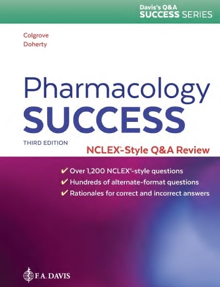 Download Pharmacology Success: NCLEX®-Style Q&A Review 3rd Edition